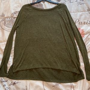 Green Old Navy Long Sleeve